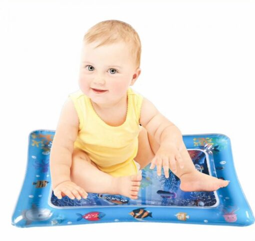 Baby Play Water Mat Inflatable Water Play Mat Infants Toddlers Fun Summer Time Play Activity Center