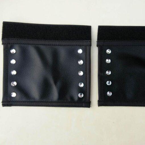 Baby Pram Handle PU Leather Pushchair Stroller Armrest Case Protective Cover 2pc set General Stroller Prams 4