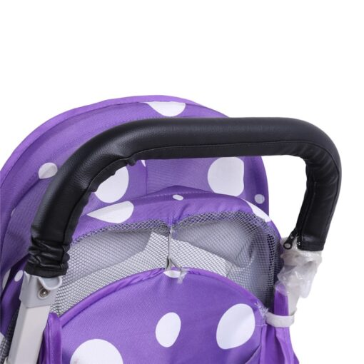 Baby Pram Stroller Armrest Cover Case PU Leather Protective Cover For Armrest Handle Wheelchairs Foldable And 2