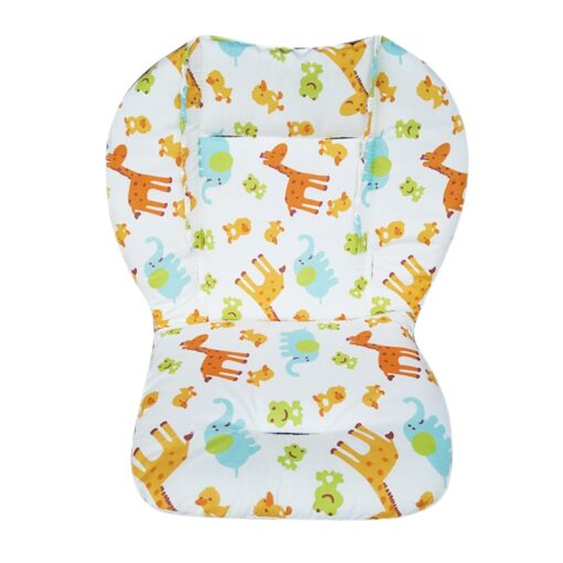 Baby Printed Stroller Pad Seat Warm Cushion Pad Mattresses Pillow Cover Child Carriage Cart Thicken Pad 3