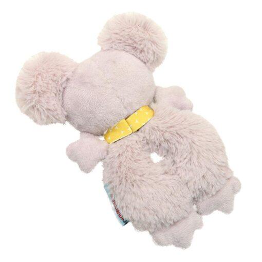 Baby Rattle Animal Koala Hand Ring Plush Toy Soft And Comfortable Fabric Cute Koala Image Staying 2