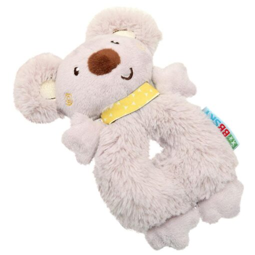 Baby Rattle Animal Koala Hand Ring Plush Toy Soft And Comfortable Fabric Cute Koala Image Staying 3