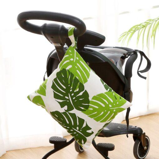 Baby Reusable Waterproof Wet Bag For Maternity Diaper Newborn Infant Baby Cart Storage Hanging Stroller Bag