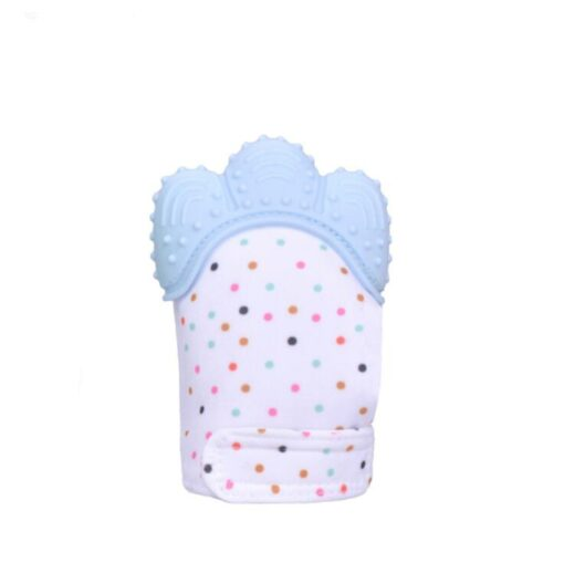 Baby Silicone Teething Glove Candy Wrapper Sound Chew Teethers Vip for Newborn 5