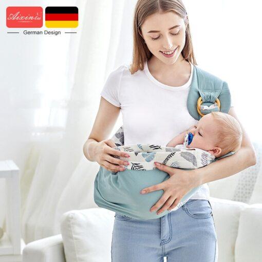 Baby Sling Carrier For NewBorn Baby Carrier Sling Load 20KG Durable Baby Wrap Ergonomic Baby Kangaroo 3