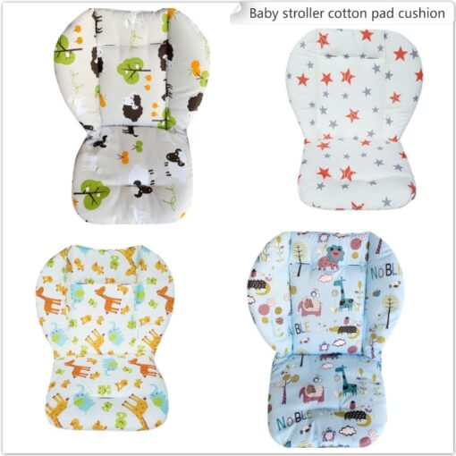 Baby Stroller Accessories Baby Stroller Seat Soft Cushion Baby Dining Chair Cotton Pad Cotton Baby Stroller