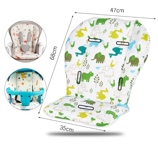 Baby Stroller Accessories Seat Cushion Child Pushchair Pad Newborn Pram Carriages Cart Soft Cushion Toddler Infant