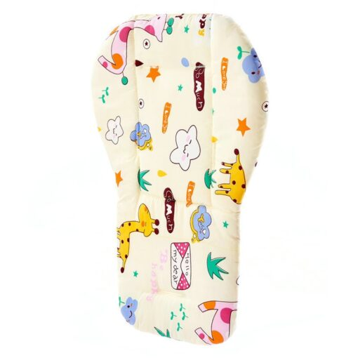 Baby Stroller Accessories Seat Cushion Child Pushchair Pad Newborn Pram Carriages Cart Soft Cushion Toddler Infant 6