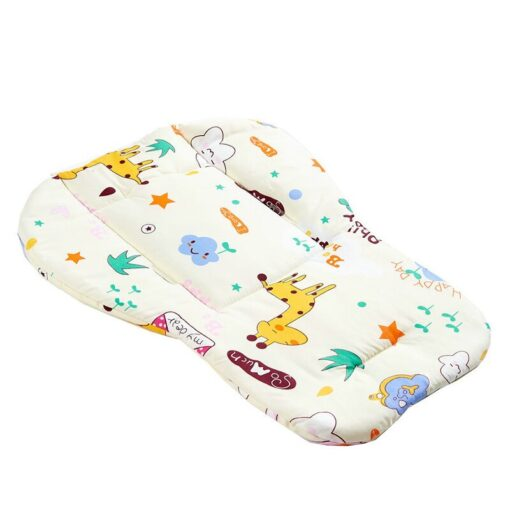 Baby Stroller Accessories Seat Cushion Child Pushchair Pad Newborn Pram Carriages Cart Soft Cushion Toddler Infant 8