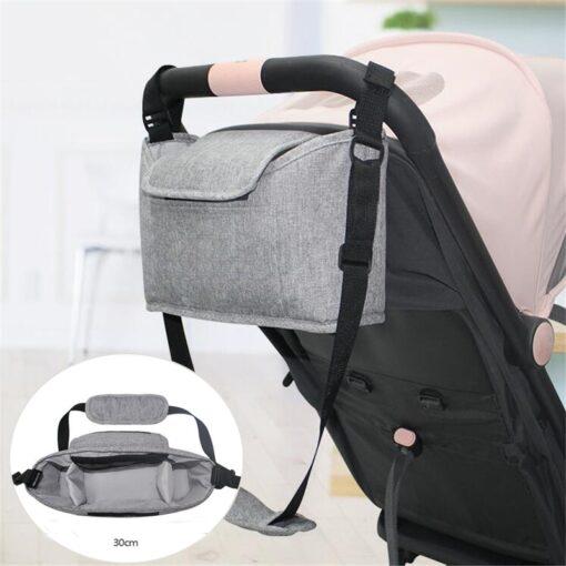 Baby Stroller Bag Mummy Organizer Bag Nappy Diaper Bags Carriage Buggy Pram Cart Basket Hook Stroller