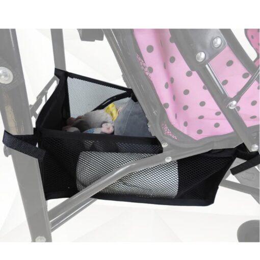 Baby Stroller Basket Newborn Stroller Hanging Basket Pram Bottom Organizer Bag 2