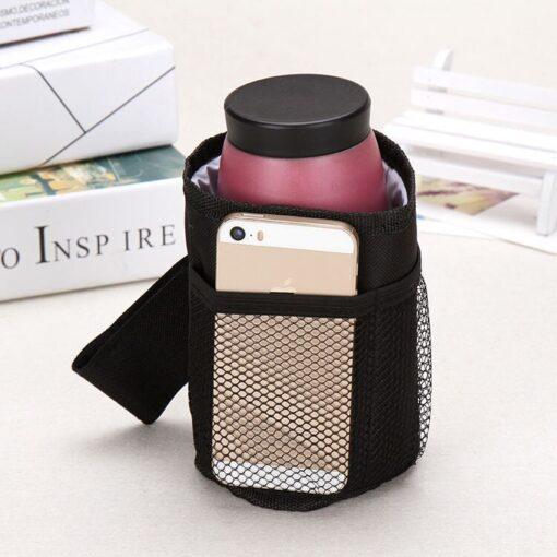 Baby Stroller Cup Holder Special Drink Parent Mug Waterproof Design Cup Bag Strollers Bicycle Universal Bottle 4