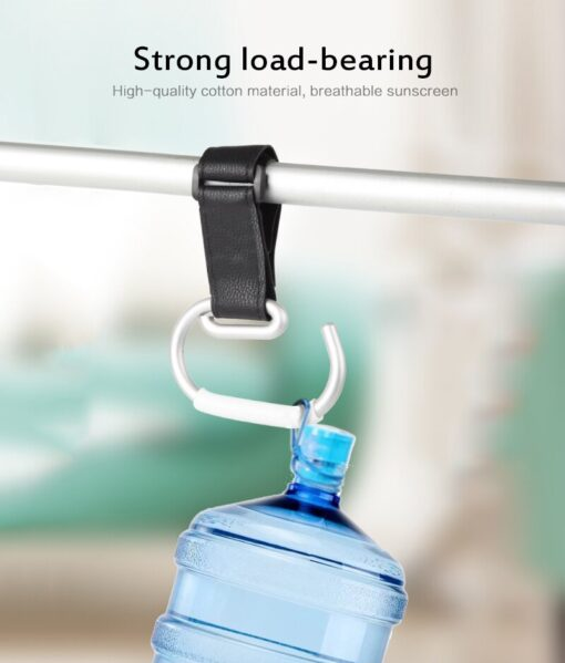 Baby Stroller Hooks Aluminum Alloy Strong Hook Trolley Accessories Multi Shopping Bag Strong Hook Baby Carriage 4