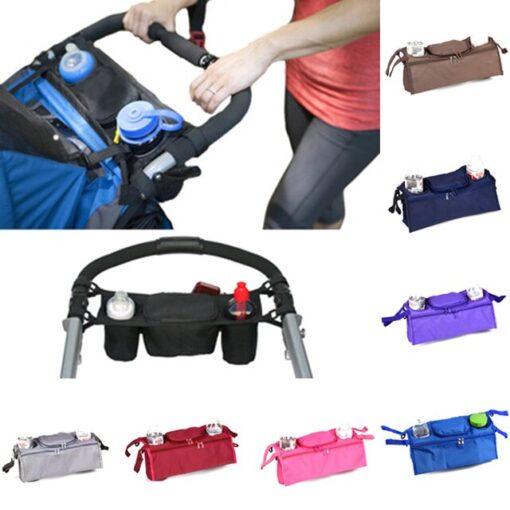 Baby Stroller Organizer Baby Prams Carriage Bottle Cup Holder Bag for Pram Buggy Baby Stroller Accessories 1