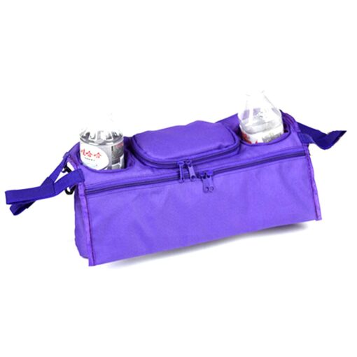 Baby Stroller Organizer Baby Prams Carriage Bottle Cup Holder Bag for Pram Buggy Baby Stroller Accessories 5