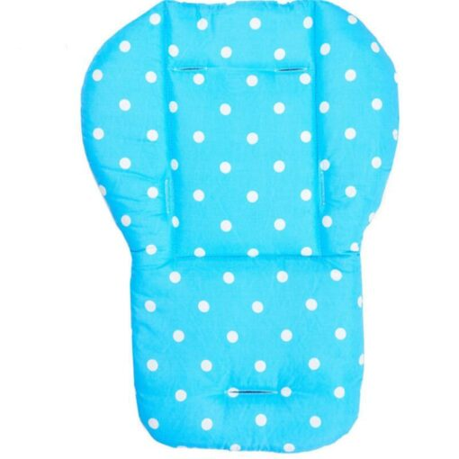 Baby Stroller Seat Cushion Stroller Mat Pushchair Car Colorful Soft Mattresses Carriages Seat Pad Accessories 4