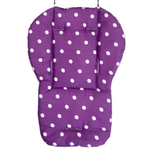 Baby Stroller Seat Cushion Stroller Mat Pushchair Car Colorful Soft Mattresses Carriages Seat Pad Accessories 5