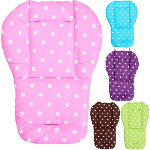 Baby Stroller Seat Cushion Stroller Mat Pushchair Car Colorful Soft Mattresses Carriages Seat Pad Accessories
