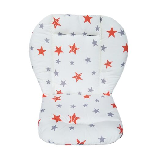 Baby Stroller Seat Pad Universal Baby Stroller High Chair Seat Cushion Liner Mat Cotton Soft Feeding 2