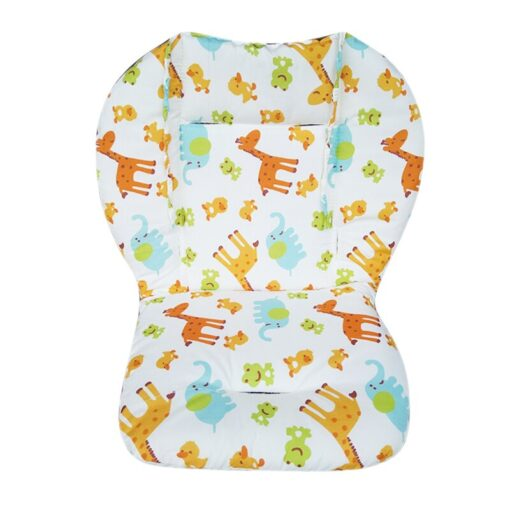 Baby Stroller Seat Pad Universal Baby Stroller High Chair Seat Cushion Liner Mat Cotton Soft Feeding 4
