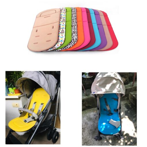 Baby Stroller Soft Cushion Pram Car Seat Mat Pushchair Cover Liner Pad Washable stroller accessories baby 6