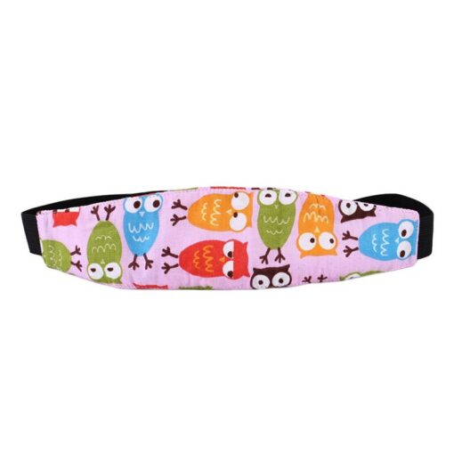 Baby Stroller sleeping Head support Child Car Safety Seat Head Fixing Auxiliary Cotton Belt for Child 3