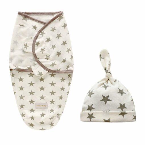 Baby Swaddle Blanket Newborn Envelope Cotton Infant Cocoon Sleep sack Baby Swaddling Wrap Bedding 0 6 1