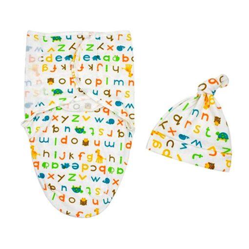 Baby Swaddle Blanket Newborn Envelope Cotton Infant Cocoon Sleep sack Baby Swaddling Wrap Bedding 0 6 5