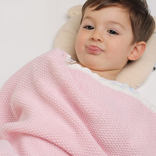 Baby Swaddle Muslin Swaddle Knitted Organic Cotton Children s Bed Blankets Colorful Soft Bedding Child Swaddle 1