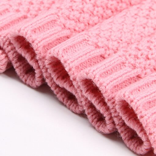Baby Swaddle Muslin Swaddle Knitted Organic Cotton Children s Bed Blankets Colorful Soft Bedding Child Swaddle 3