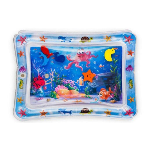 Baby Toddler Inflatable Play Mats Toys Foldable Cartoon Kids Water Play Mat Inflatable Thicken PVC Infant