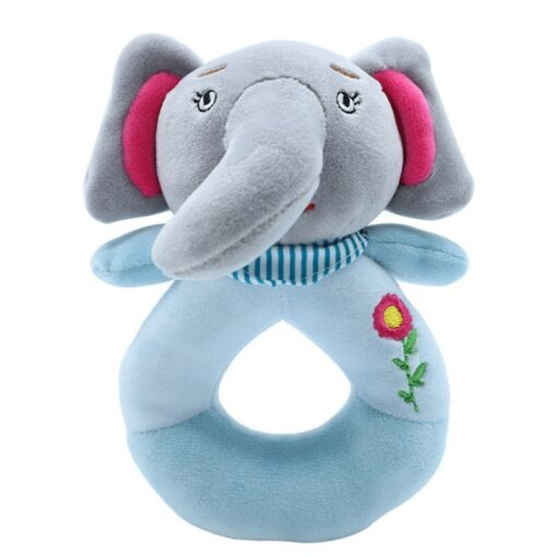 Baby Toy Infant Baby Kids Socks rattle toys Wrist Rattle And Foot Socks Hanging Rattles Plush 3