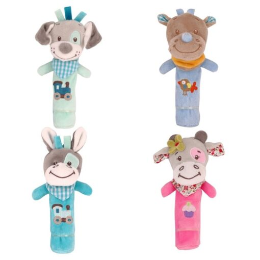 Baby Toy Infant Baby Kids Socks rattle toys Wrist Rattle And Foot Socks Hanging Rattles Plush 4
