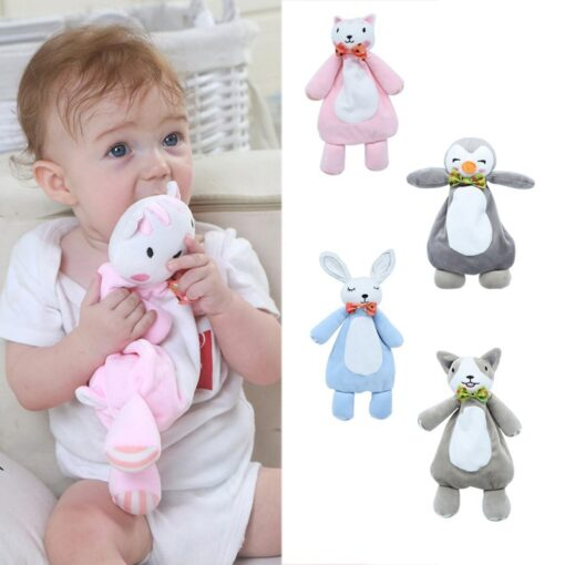 Baby Toy Infant Baby Kids Socks rattle toys Wrist Rattle And Foot Socks Hanging Rattles Plush
