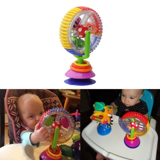 Baby Toys 0 12 Months Wonder Wheel Rattles Rotating Ferris Wheel With Suction Cup Inspire Sense 2