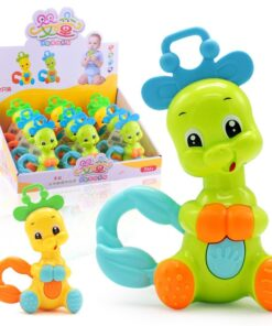 Baby Toys 0 12 months Rattle Hand Knocking Bell Toy Rattles Develop Baby Intelligence Activity Grasping 1