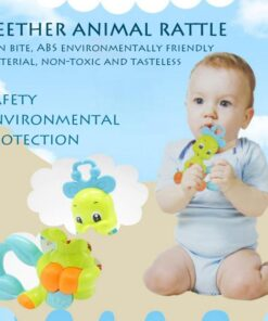 Baby Toys 0 12 months Rattle Hand Knocking Bell Toy Rattles Develop Baby Intelligence Activity Grasping 3