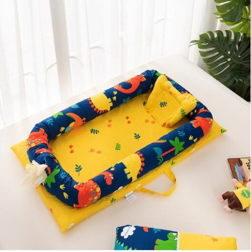 Baby Travel Bed Nest Bed Babynest Newborn Portable Crib Tissu Coton Baby Nestje Baby Lounge Bassinet 2