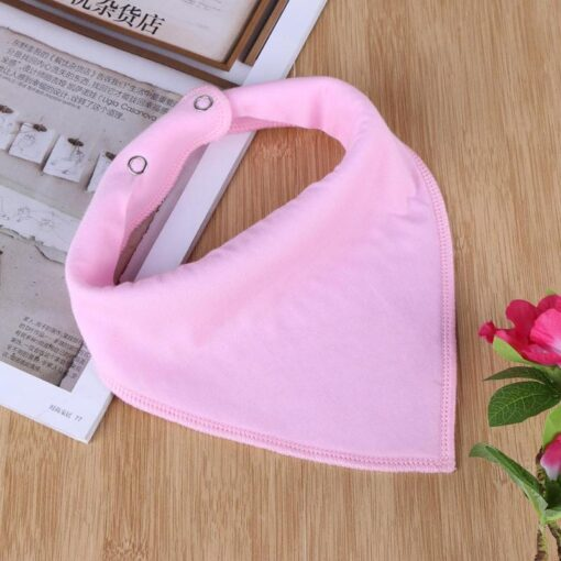 Baby Triangle Bibs Bandana Infantil Feeding Towel Soft Apron Lactation Infant Baby Dribble Bib Burp Cloth 3