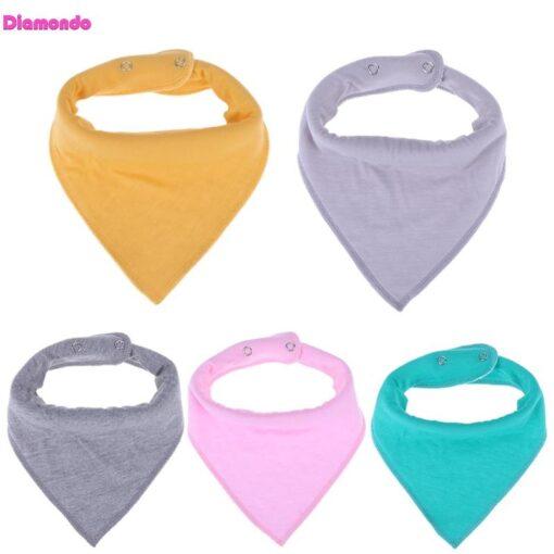 Baby Triangle Bibs Bandana Infantil Feeding Towel Soft Apron Lactation Infant Baby Dribble Bib Burp Cloth