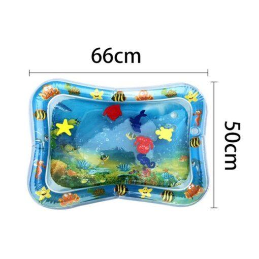 Baby Water Mat Kids Watermat Creative Dual Use Toys Baby Water Play Mat Activity Gym Tapis 3