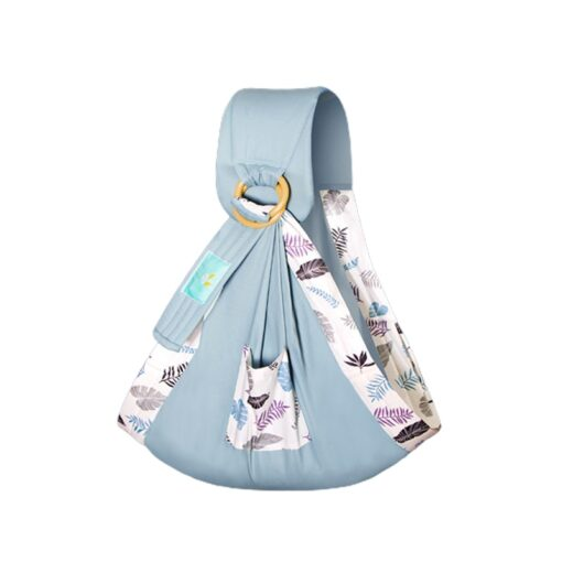 Baby Wrapped Carrier Newborn Carrier Dual purpose Baby Care Cover Mesh Fabric Breastfeeding Baby Carrier 1