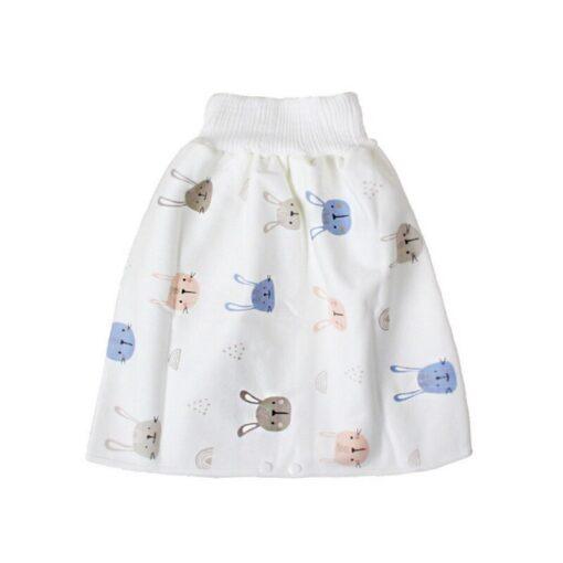 Baby diaper skirt artifact baby child diaper diaper training leak proof waterproof washable cotton urine proof 2