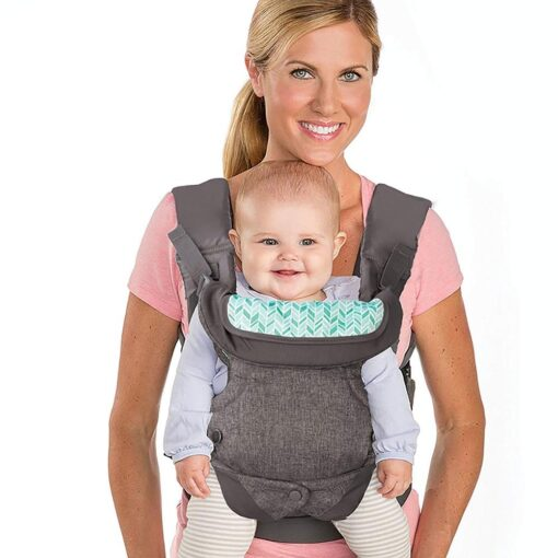 Baby ergonomic wrap belt strap multi function breathable newborn baby carrier wrap portable baby travel waist 2