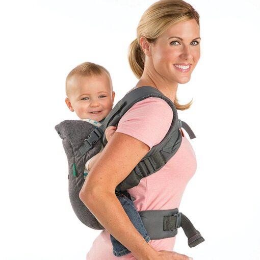 Baby ergonomic wrap belt strap multi function breathable newborn baby carrier wrap portable baby travel waist 5