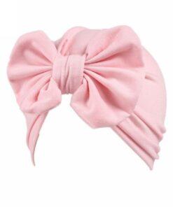 Baby hat Girls Boho Bow tie Beanie Scarf Turban Head Wrap Cap winter hats for kids 3
