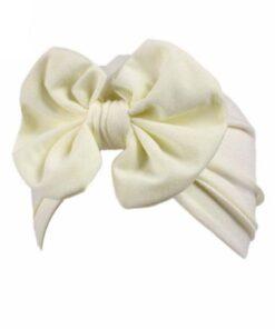 Baby hat Girls Boho Bow tie Beanie Scarf Turban Head Wrap Cap winter hats for kids 5