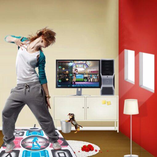 Baby play mat Video Arcade Dance Gaming Mats Anti Slip Dancing Step Dance Mat Pads To 2