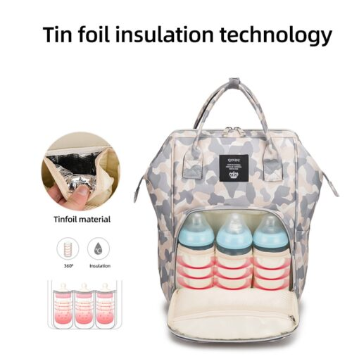 Bag in the maternity diaper Bags Backpack Large Capacity back pack Multi function Outdoor Nappy packet 1