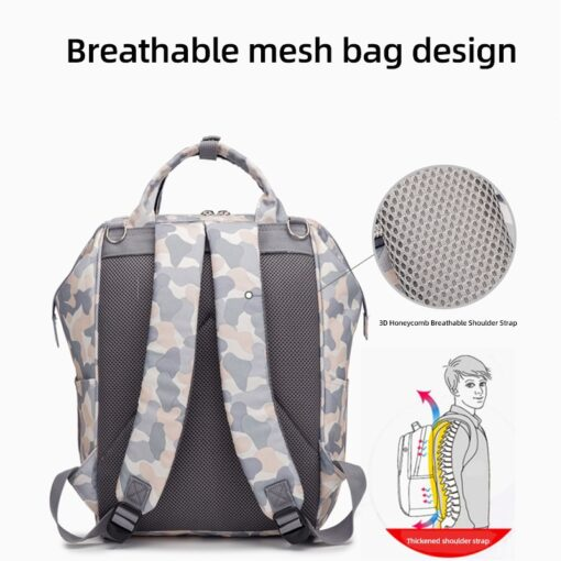 Bag in the maternity diaper Bags Backpack Large Capacity back pack Multi function Outdoor Nappy packet 3
